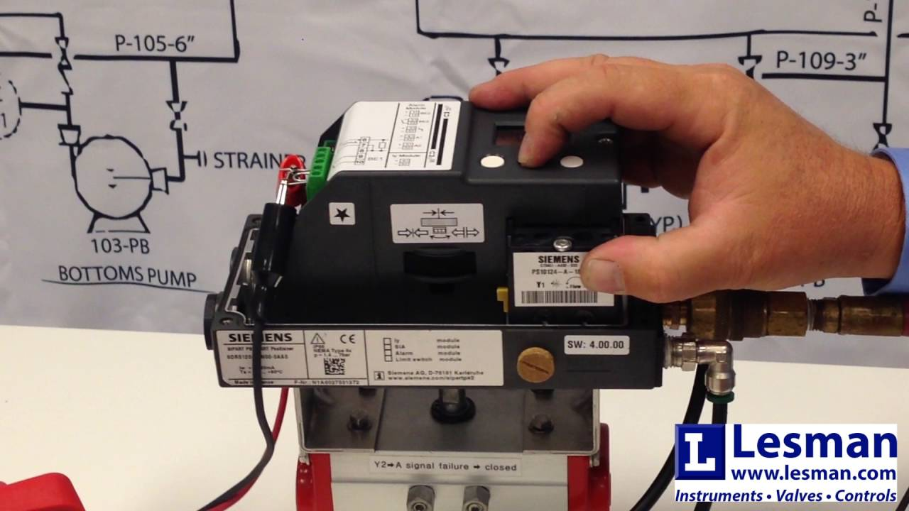 Overview of the Siemens SIPART PS2  YouTube