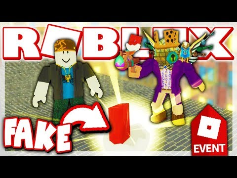 FAKE EGGMIN 2018 EGG TROLLING!! *THEY BELIEVED ME!* (ROBLOX Egg Hunt 2018 Event)