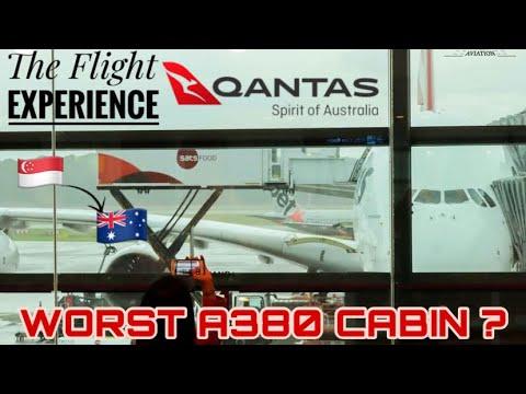 Qantas A380 Flight Experience | Singapore to Sydney | Economy
