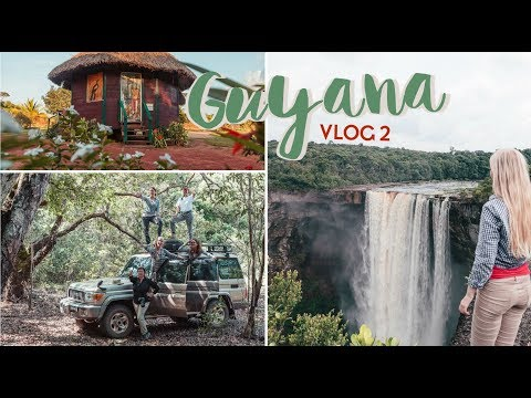 GUYANA Vlog: Kaieteur Falls, Surama Eco Lodge & the Rainforest
