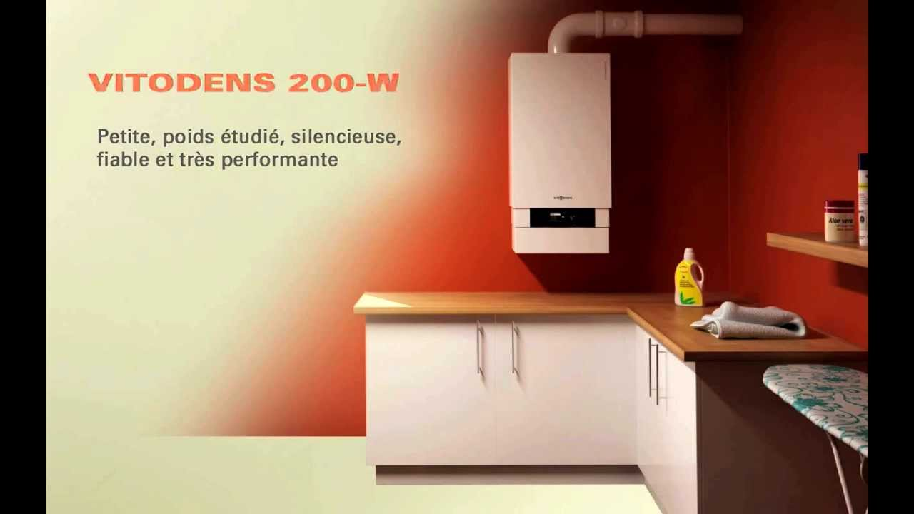 chaudi re vitodens200w viessmann youtube. Black Bedroom Furniture Sets. Home Design Ideas