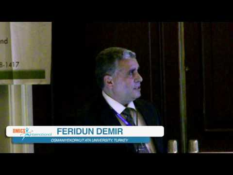 Feridun Demir | Turkey | Petrochemistry   2015 | Conferenceseries LLC