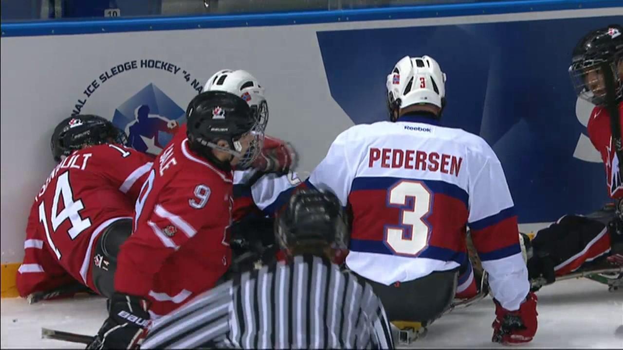 Throwbackthrusday Gold Medal Game International Ice Sledge Hockey Tournament 4 Nations Sochi