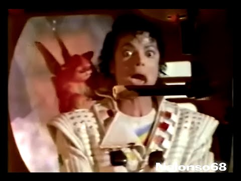 Michael Jackson - Captain Eo (Behind the scenes) RARE