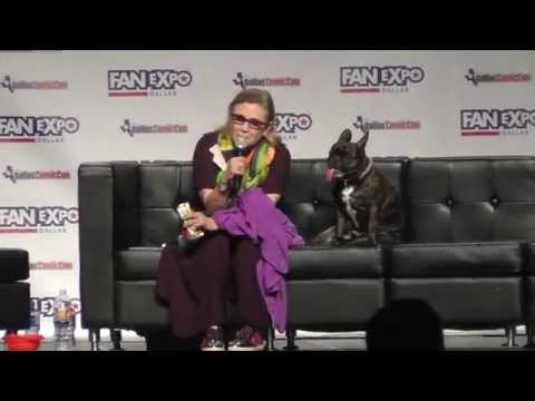 Dallas Comic Con - May 2015 - Carrie Fisher
