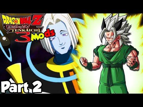 BATTLING THE ANGELS?! Defeating Super Saiyan White | Dragon Ball Z Budokai Tenkaichi 3 Story Mods