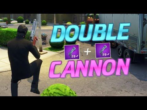 New DOUBLE PUMP! Fortnite HAND CANNON'S