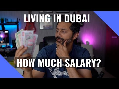 How much are salaries in Dubai?