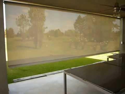 Cortina Roller Exterior  YouTube