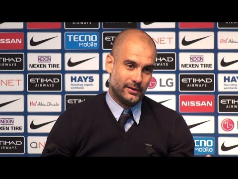 Manchester City 2-1 Leicester - Pep Guardiola Post Match Press Conference - Embargo Extras