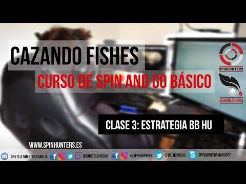 Estrategia SPIN AND GO BB HEADS UP - Cazando fishes 🐟🐟 CURSO BÁSICO