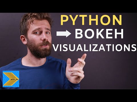 Python Bokeh Tutorial - Creating Interactive Web Visualizations