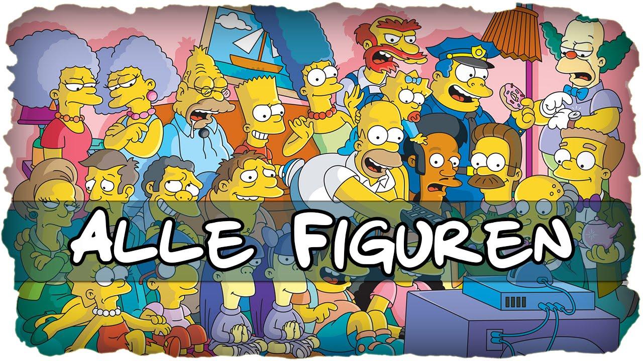 Simpsons Figuren