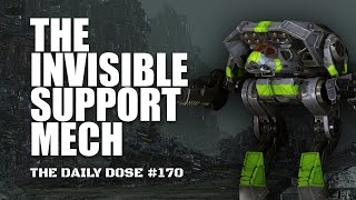 The Invisible Support Mech - UAC10 Adder - Mechwarrior Online The Daily Dose #170