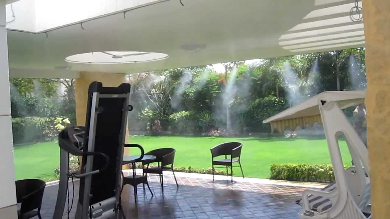 MistCooling.com | Mist Cooling Systems India | Misting Systems | Outdoor  Cooling Solution   YouTube