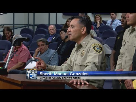 Sheriff asks Bernalillo County Commission for $9M to pay for more deputies
