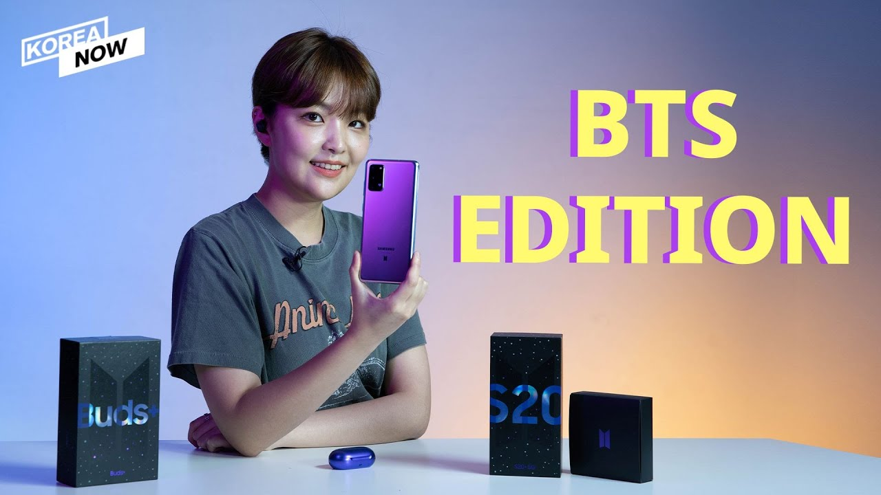 Unboxing Bts Edition Samsung Galaxy S20 5g Model Bts Edition Buds Youtube