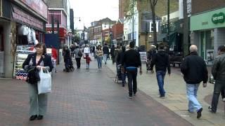 Town Centre, Chatham, Kent.