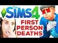 First Person Deaths *DISTURBING* The Sims 4