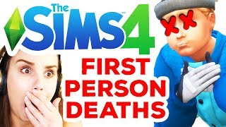 First Person Deaths *DISTURBING* The Sims 4