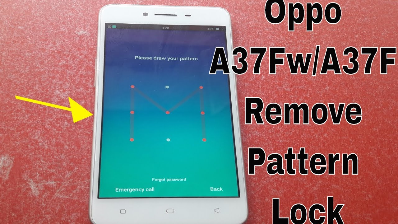 How To Flash Oppo A37f   A37Fw Remove Pattern Lock/Pin Code 100% Tested