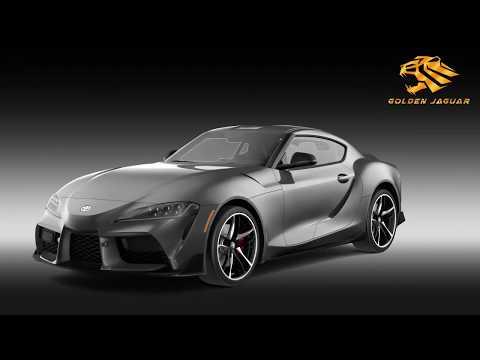 Toyota Supra GR 2020 3D Model