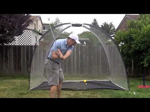 Bon Golf Drills In The Backyard