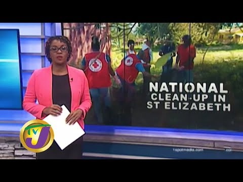 TVJ News: National Clean-up in St. Elizabeth - January 24 2020