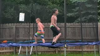 KIDS HAVING FUN IN THE RAIN! 👱♂️🌧🧑🌧