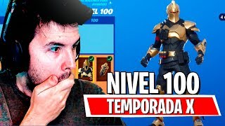 'SEASON X'SKIN LEVEL 100! TOUS ACHETÉ! FORTNITE: Bataille Royale