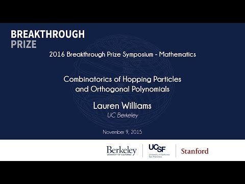 Lauren Williams. Combinatorics of Hopping Particles and Orthogonal Polynomials