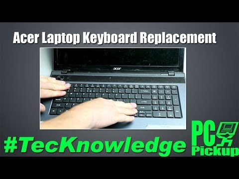 Acer Laptop Keybaord Replacement #tecknowledge
