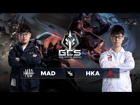 Trực tiếp MAD vs HKA - Tuần 7 Ngày 3 - GCS Mùa Xuân 2019