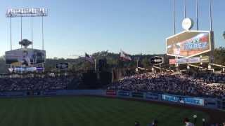 LA Dodgers line up against NY Yankees by movie star ken jeong