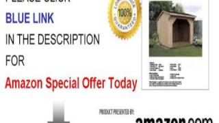 8' X 8' Firewood Storage Shed Project Plans-design #70808