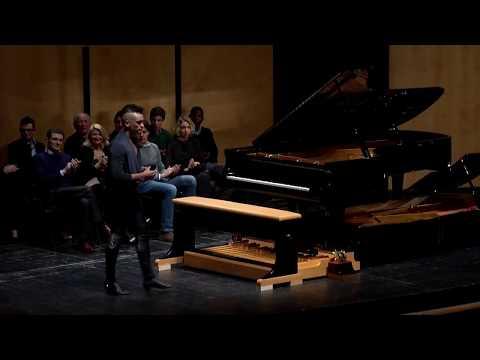 CAMERON CARPENTER PLAYS A DOPPIO BORGATO PEDAL PIANO