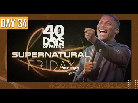 40 Jours  | 34ème Soirée | Pasteur Gregory Toussaint | Shekinah.fm