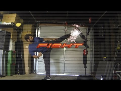 Real Life Tekken - Training Mode with Kicks - Eric Jacobus