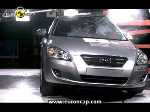 Euro NCAP | Kia Cee'd | 2007 | Crash test