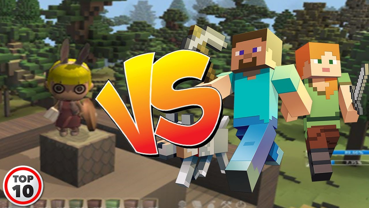 Top 11 Scary Minecraft Rip Offs