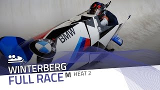 Winterberg | BMW IBSF World Cup 2016/2017 - 2-Man Bobsleigh Heat 2 | IBSF Official