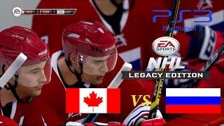 [NHL Legacy Edition] Russia 10:2 Canada