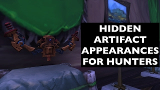 Hidden Artifact Appearances for Hunters (Hidden Potential) | WoW Guide