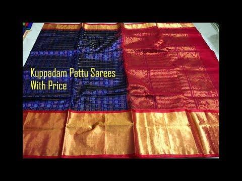 3a579491b8 #16 Striking Kuppadam Pattu Sarees With Price For Online Shopping - YouTube