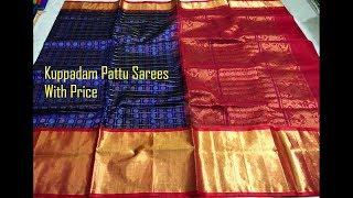 #16 Striking Kuppadam Pattu Sarees With Price For Online Shopping