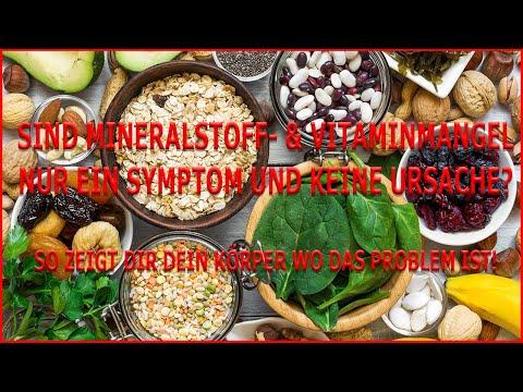 Sind Vitamin- und Mineralstoffmängel nur Symptome und gar nicht die Ursache?