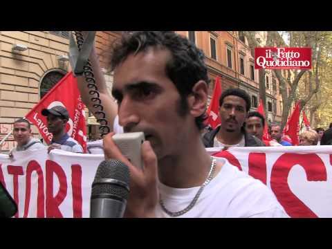 Roma, le voci e le ragioni del corteo. Tra movimenti, lavoratori e tanti stranieri