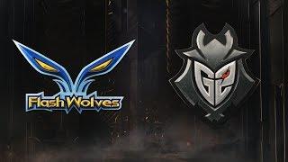 MSI 2019: Fase de Grupos - Dia 2 | Flash Wolves x G2 Esports (11/05/2019)