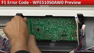 f1 error code whirlpool kitchenaid ranges ovens diagnostic and repair