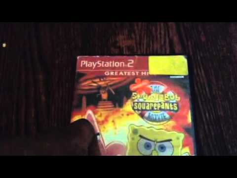 the spongebob squarepants movie game ps2 review youtube